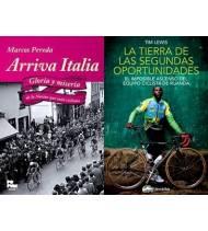 """Pack promocional """"La tierra de las segundas oportunidades"""" + """"Arriva Italia"""" (sin gastos de envío)"""