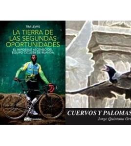 """Pack promocional """"La tierra de las segundas oportunidades"""" + """"Cuervos y Palomas"""" (sin gastos de envío)"""