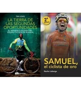 """Pack promocional """"Samuel, el ciclista de oro"""" + """"La tierra de las segundas oportunidades"""" (sin gastos de envío)"""