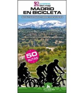 Madrid en bicicleta. 50 rutas alrededor de Madrid para todos los niveles