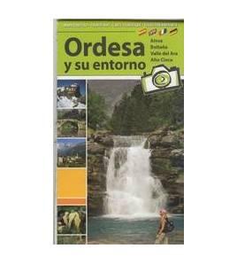 Ordesa y su entorno. Mapa turístico Mapas y altimetrías 9788480903158