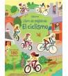 El ciclismo. Libros de pegatinas