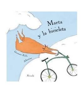 Marta y la bicicleta Infantil 9788416854189 Germano Zullo / Albertine