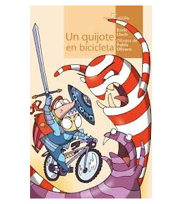 Un Quijote en bicicleta Infantil 9788495722881 Enric Lluch