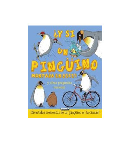 Y sin un pingüino montara en bici?