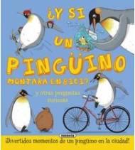 ¿Y sin un pingüino montara en bici?