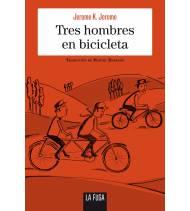 Tres hombres en bicicleta