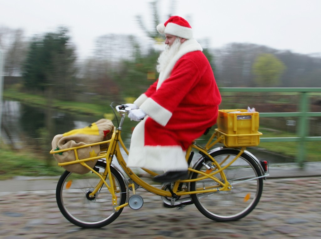 Santa Claus At The Himmelpfort Post Office